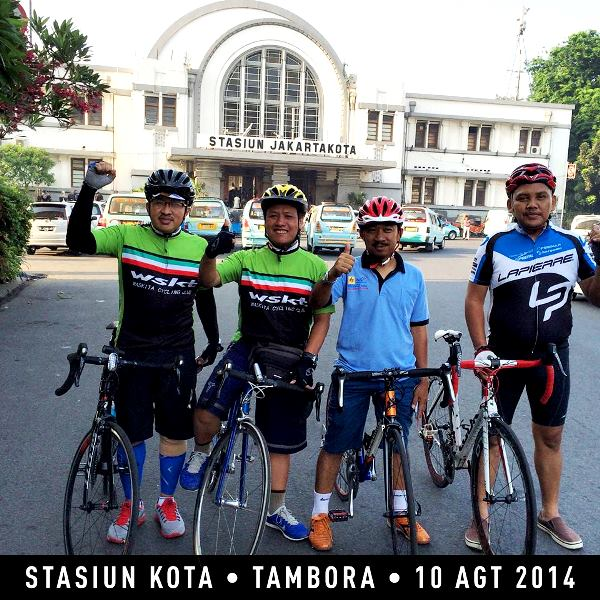 CFD Jakarta melalui Stasiun Kota