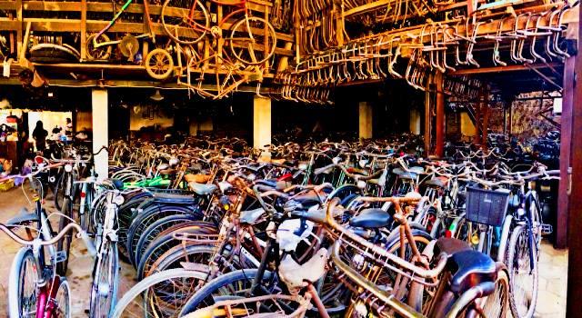 Sewa sepeda tua Magelang
