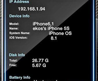 Battery Life Pro di iOS 81