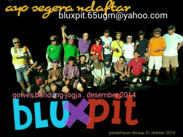 Poster BluxPit karya MitraBani @MBR