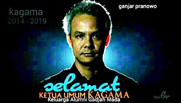 Ketua Umum Kagama Ganjar Pranowo