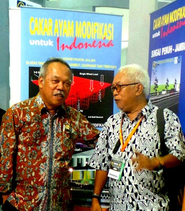Ketua BluXpit  2014 dan Menteri PU