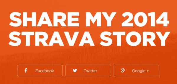 Share Strava story