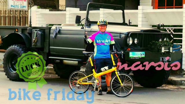 Bike Friday di Semarang