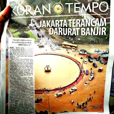 Jakarta terancam darurat banjir
