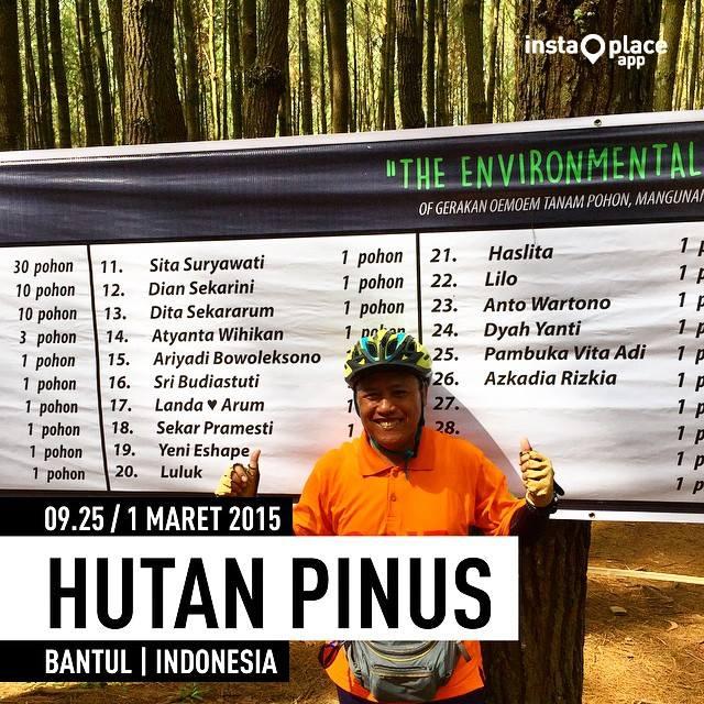bike forest healthy Hutan Pinus