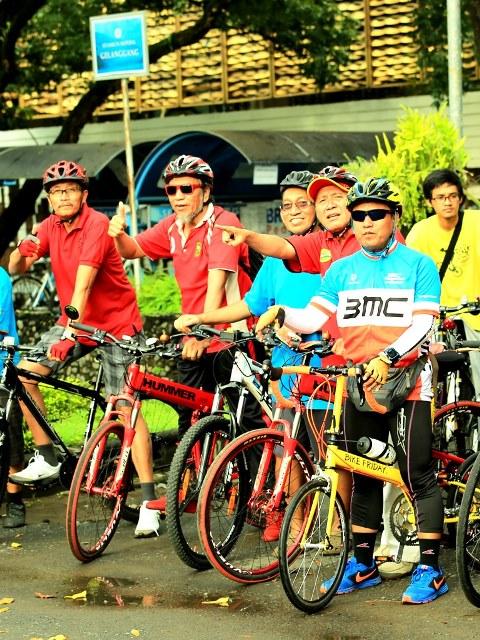 Bike Friday di Kampus