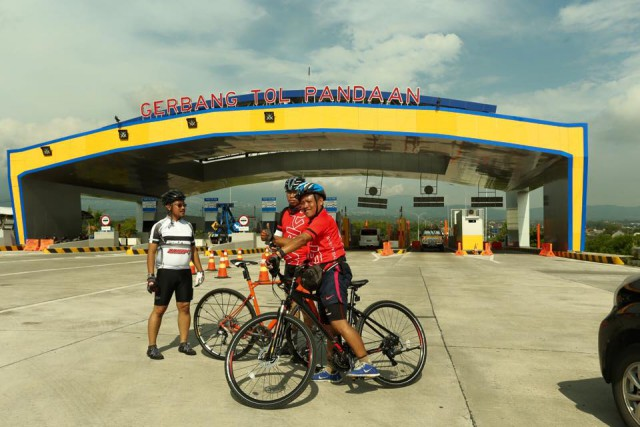 Jalan Tol Pandaan yang panas dilahap dengan Polygon Heist 5