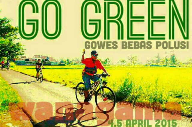 Go Green Wanagama 4-5 April 2015