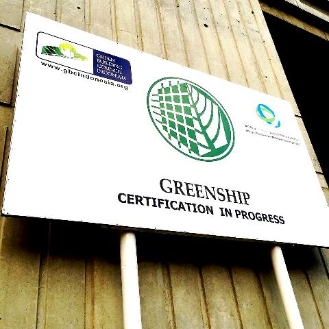 Greenbuilding certification in progress