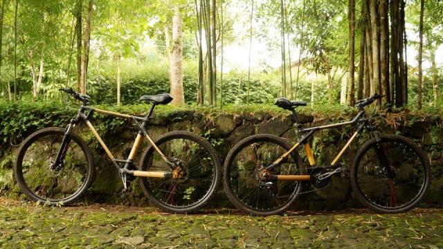 SPEDAGI (sepeda pagi-pagi) dari Bambu