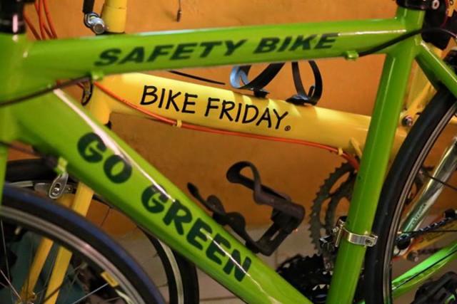 Sepeda Hijau Go Green