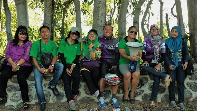 Gowes Lombok selalu penuh keramahan