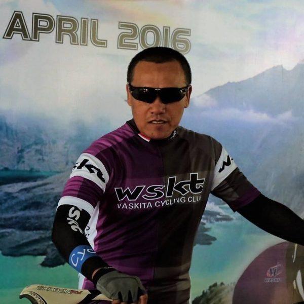 Sukses Gowes nanjak Lombok