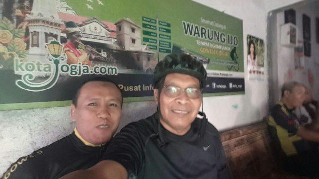 Bersama pak BWS di Warijo