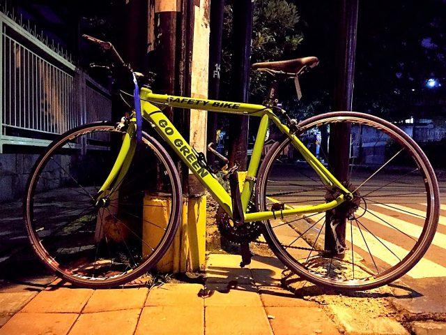 safety-bike RB dengan stanng lurus dan 3 gigi depan