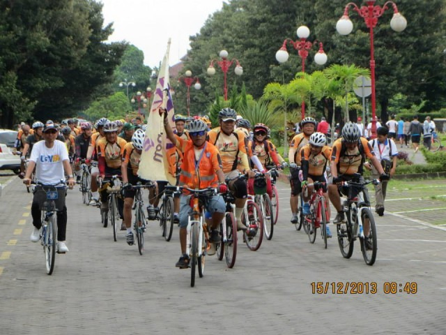 MBR memimpin Gowes Surabaya Jogja