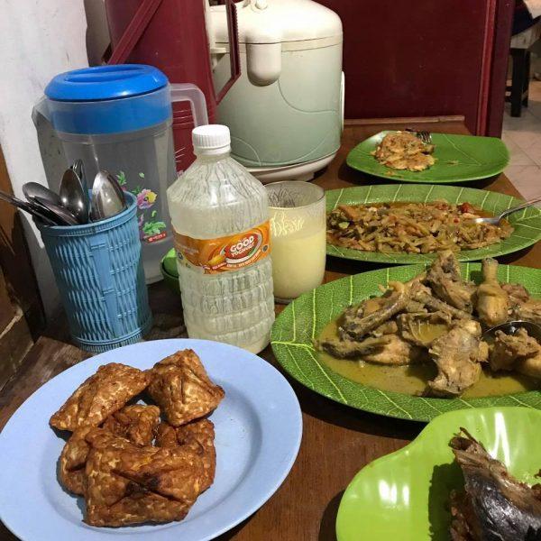 Sahur Yoghurt dan sayur labu