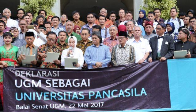 UGM sebagai universitas Pancasila
