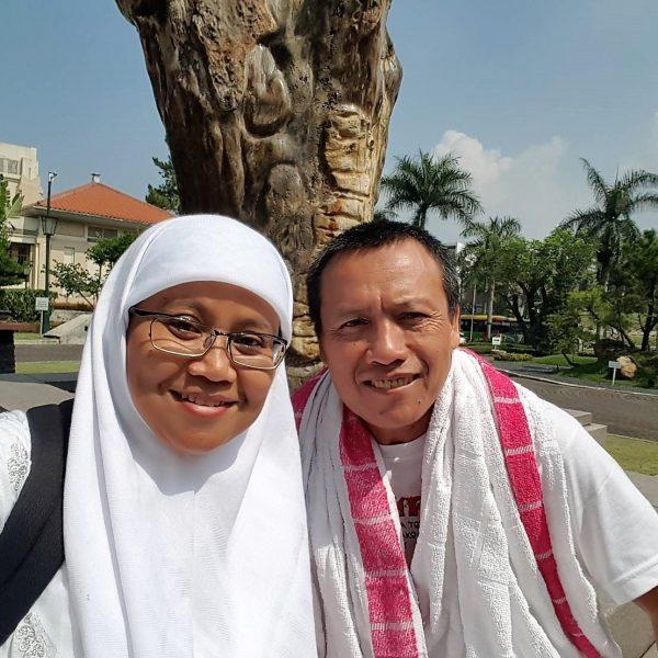 manasik dengan bu Yeni di Bandung