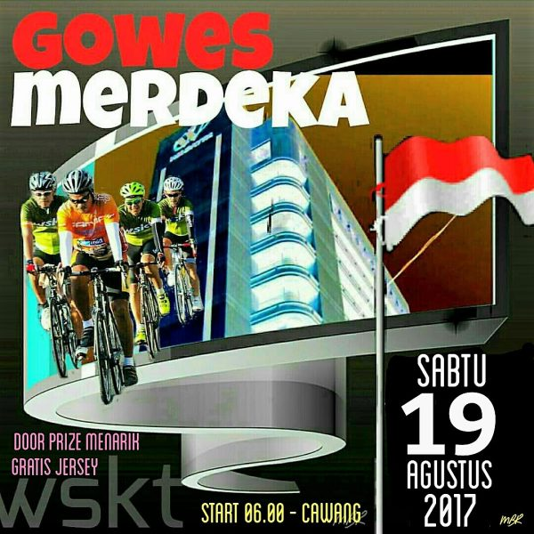 Gowes Merdeka 19 Agustus 2017