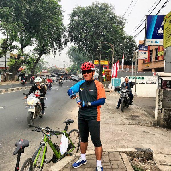 Pos regrouping satu Jl Jend Sudirman
