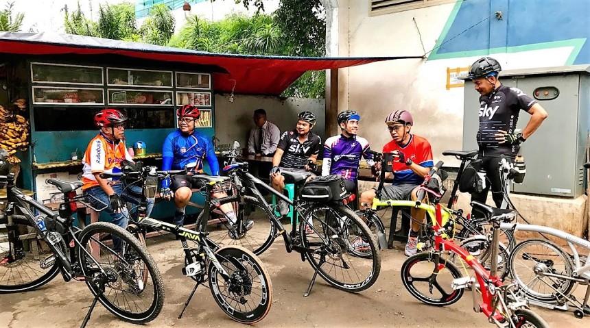 Ngobrol sebelum start Cawang