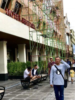 Jalan sehat ke TK Netral (Hotel Mutiara now)