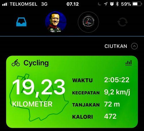 Muter Halim 19 km