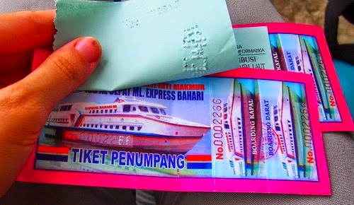 tiket Express Bahari VIP