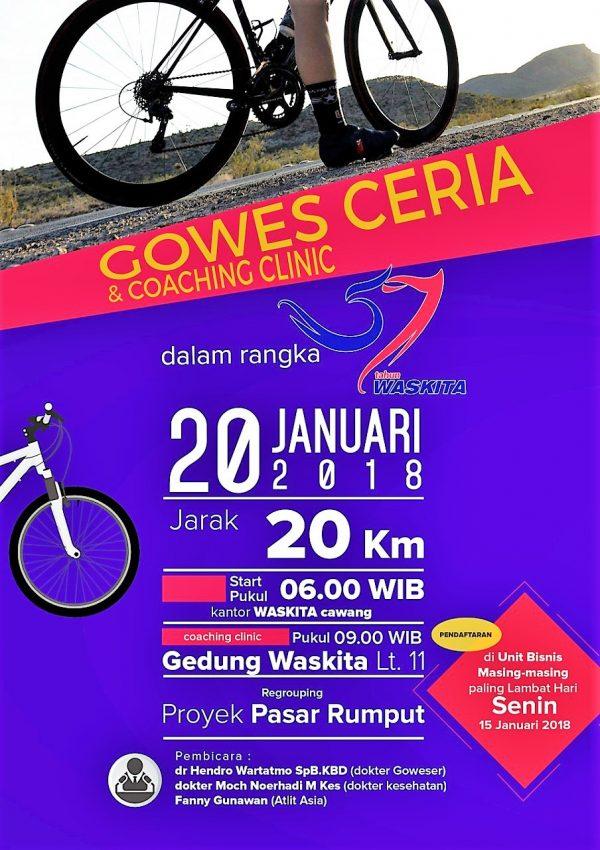 Gowes ceria WSKT