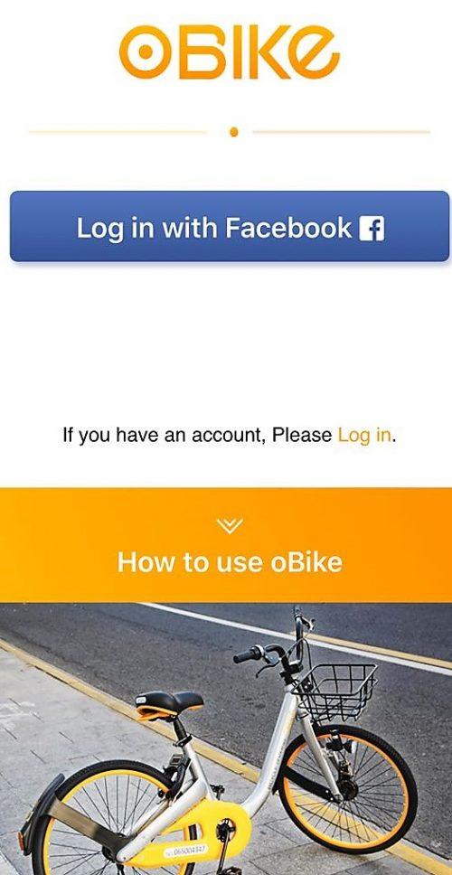 obike persewaan sepeda