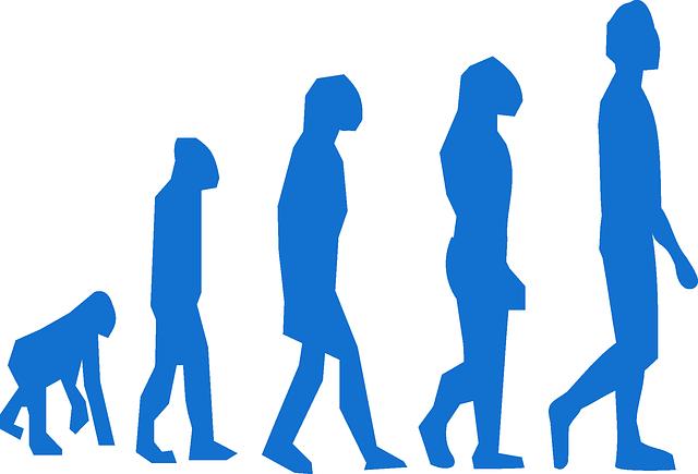 dari membungkuk menuju ke berdiri tegak (pixabay)