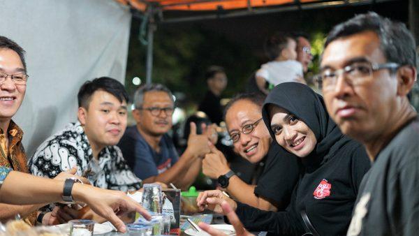 Warung kaki lima Surabaya