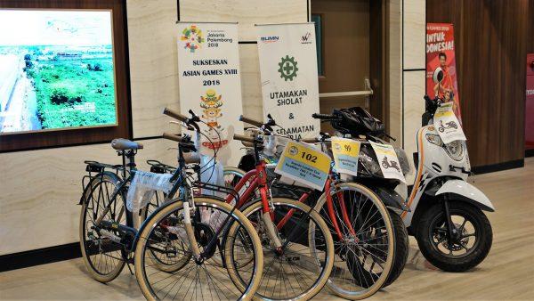 Hadiah Motor dan Sepeda untuk RAT Koperasi 2018