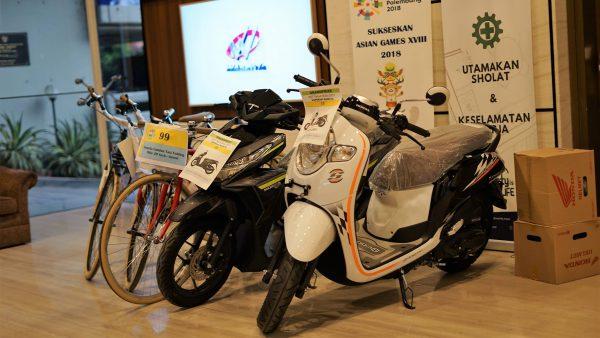Hadiah motor untuk RAT Koperasi 2018
