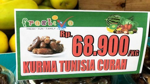 kurma tunisia curah 1 kg