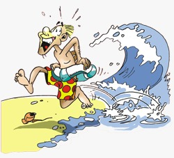 Jauhi pantai untuk menghindari bahaya tsunami