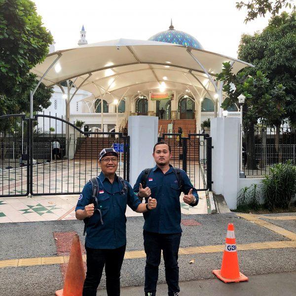 ke Masjid sebelum ke GBK