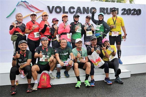 volcano RUN 2020 KLUB