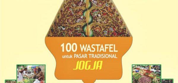 100 washtafel untuk pasar tradisional